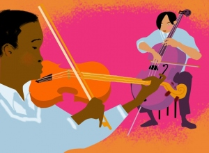 Web Icon for Guardian Learn Gifted and Talented site. Music